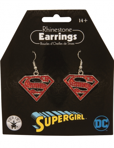Boucles d'oreilles Supergirl™