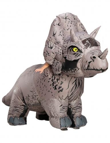Déguisement gonflable triceratop Jurassic World Fallen Kingdom™ adulte