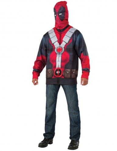 Veste avec cagoule Deadpool™ adulte