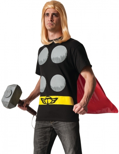 T-shirt avec cape Thor™ adulte