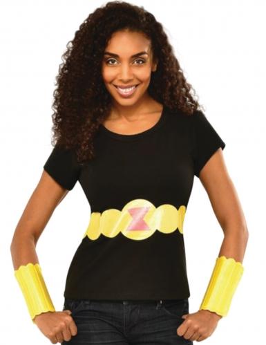 T-shirt et gantelets Black Widow™ femme
