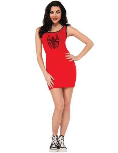 Déguisement robe rouge Spider-Girl™ femme