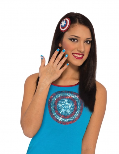 Kit maquillage Captain America™ femme