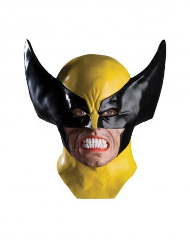 Masque en latex deluxe Wolverine X-Men™ adulte