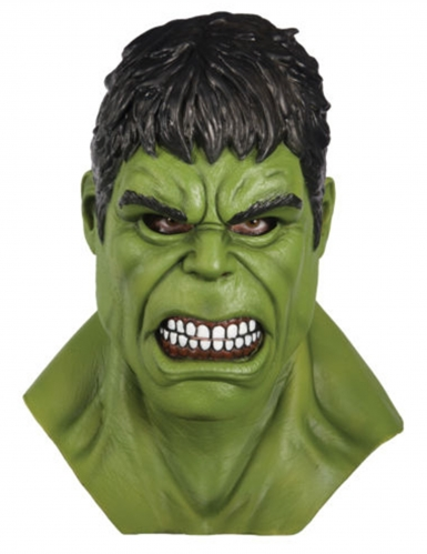 Masque complet en latex Hulk™ adulte