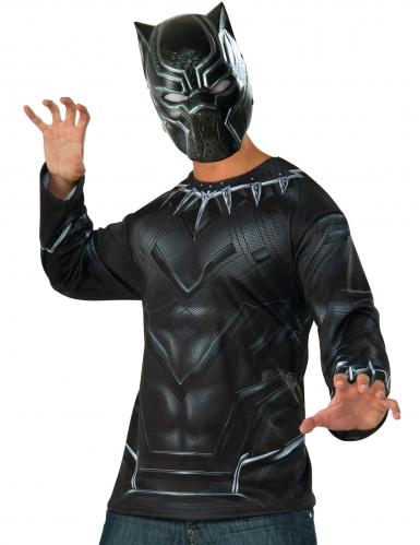 T-shirt et masque Black Panther Captain America Civil War™ adulte