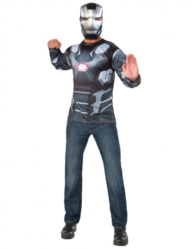 T-shirt et masque War Machine Captain America Civil War™ adulte