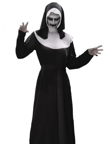 Pack déguisement nonne zombie femme