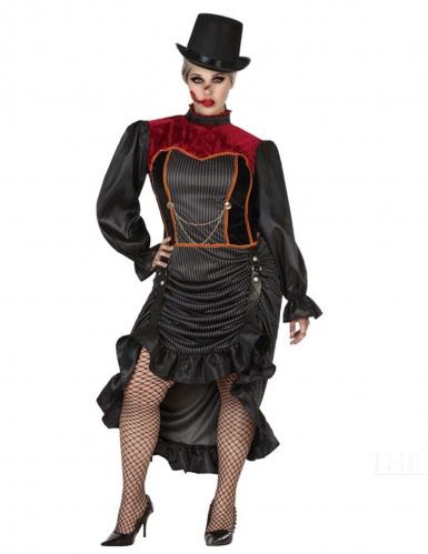 Déguisement vampire du XVIII ème siècle femme-1
