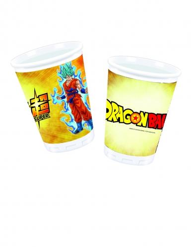 10 Gobelets en plastique Dragon Ball Super™ 200 ml