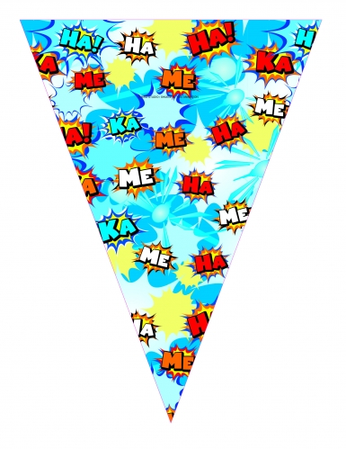 Guirlande fanions en papier Dragon Ball Super™ 360 cm-2