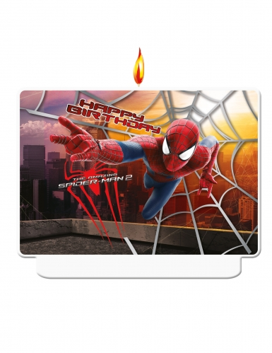 Bougie d'anniversaire The Amazing Spiderman™