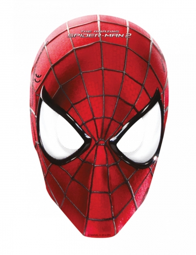 6 Masques en carton The Amazing Spiderman™