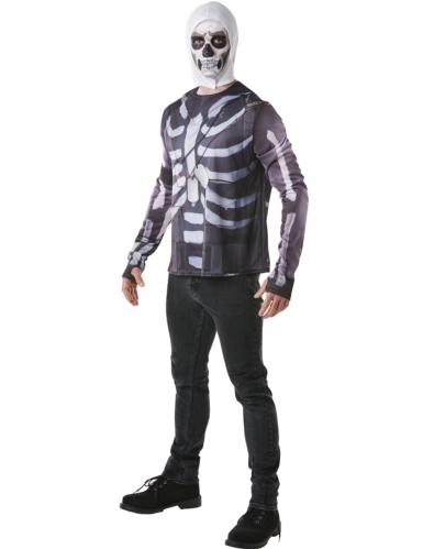 T-shirt et cagoule Skull Trooper Fortnite™ adulte