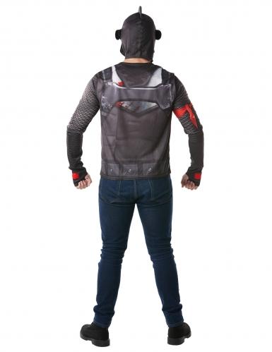 T-shirt et casque Black Knight Fortnite™ adulte-1