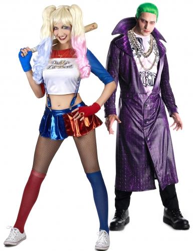 Déguisement couple de Joker et son associée