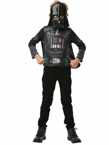 T-shirt avec cape et masque Dark Vador™ enfant-1