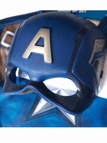 T-shirt avec masque Captain America™ enfant-4