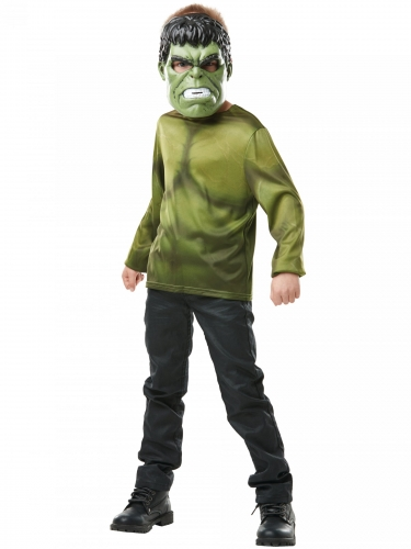 T-shirt avec masque Hulk™ enfant