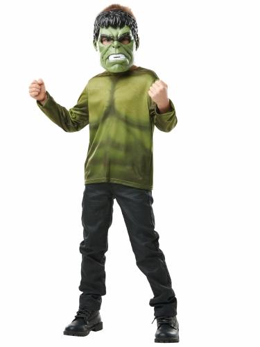 T-shirt avec masque Hulk™ enfant-1