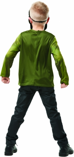 T-shirt avec masque Hulk™ enfant-2