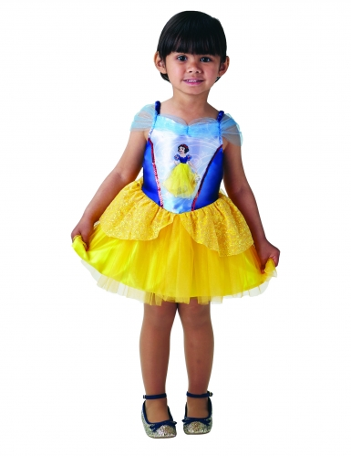 Déguisement Princesse Ballerine Blanche Neige™ fille-5