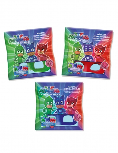 Masque avec bonbons Pyjamasques™ Gluglu-1