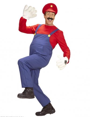 Déguisement super plombier homme-1