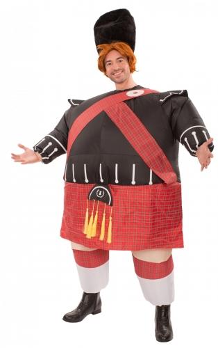 Déguisement gonflable écossais adulte