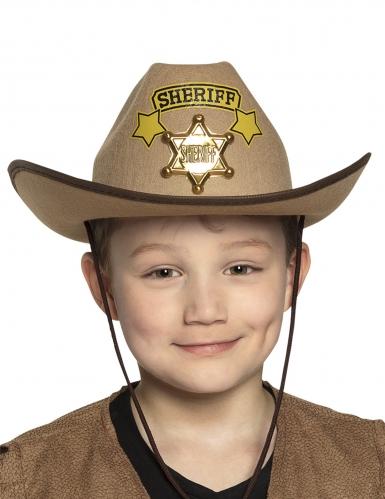 Chapeau cowboy shériff enfant