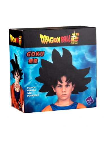Perruque Goku Dragon Ball™ enfant-1