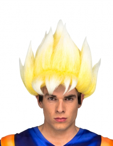 Perruque Super Saiyan Goku Dragon Ball™ adulte