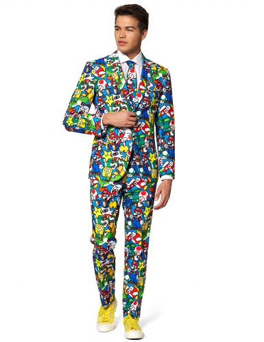 Costume Mr. Super Mario™ adulte Opposuits™