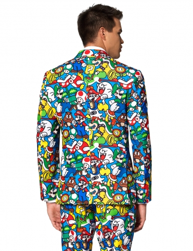 Costume Mr. Super Mario™ adulte Opposuits™-1