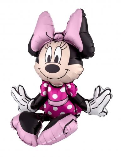 Ballon aluminium Minnie Mouse™ assise 38 x 45 cm