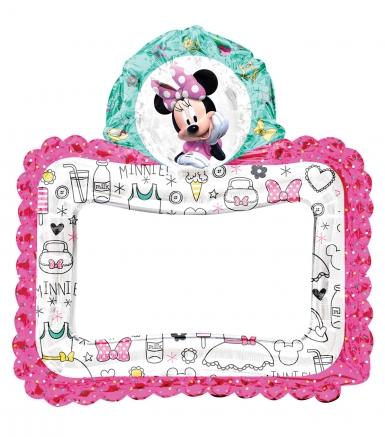 Ballon aluminium cadre Minnie Mouse™