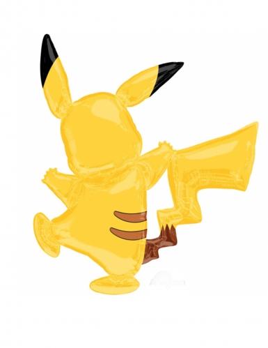 Ballon aluminium Pikachu Pokémon™ 132 x 144 cm-1