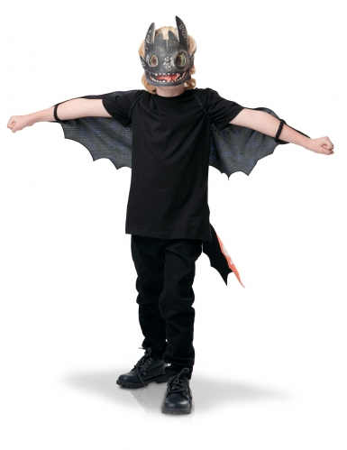 Kit ailes et masques Krokmou Dragon 3™ enfant