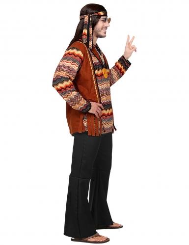 Déguisement hippie nature homme-2