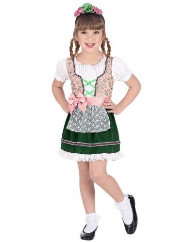 Déguisement jeune bavaroise fille
