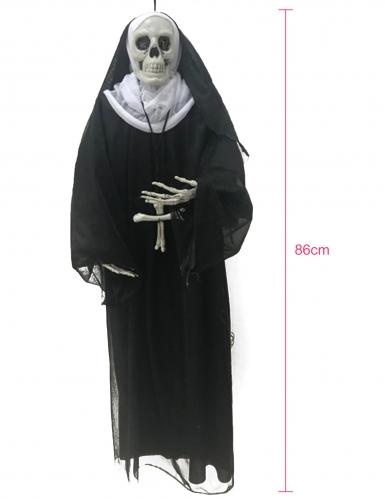 Décoration à suspendre nonne 86 cm-1