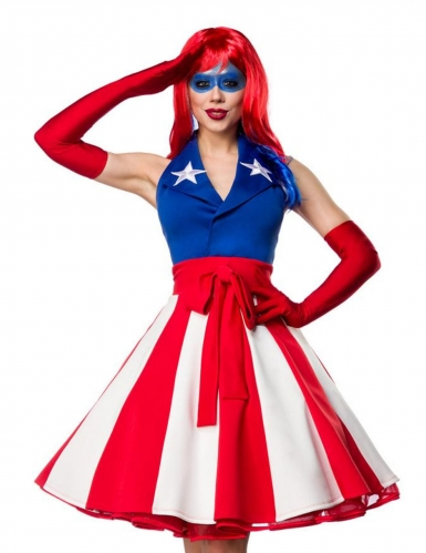 Déguisement miss america sexy femme