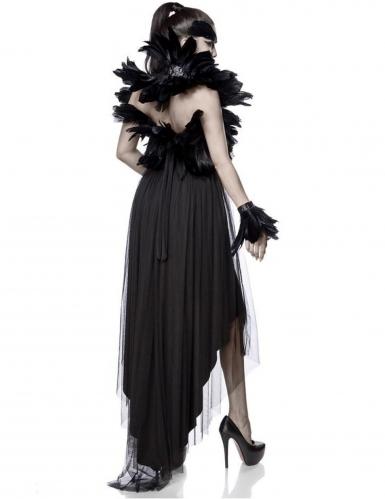Déguisement sorcière corbeau femme-1