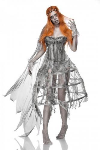 Déguisement mariée zombie femme