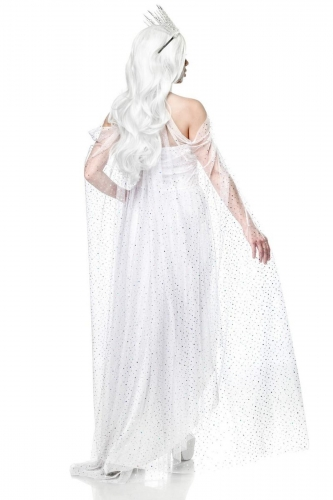 Déguisement reine blanche femme-1
