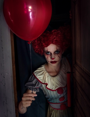 Déguisement clown psycho femme-1