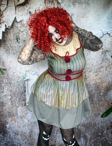 Déguisement clown psycho femme-3