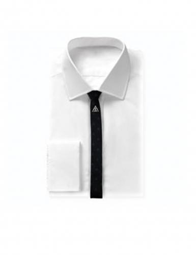 Réplique cravate deluxe avec pin's Les Reliques de la Mort Harry Potter™-2