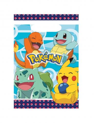 8 Sacs cadeaux en plastique Pokémon™