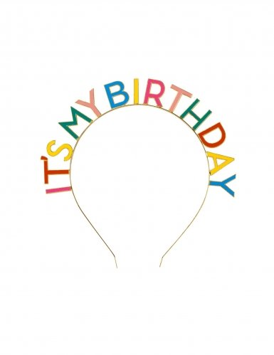 Serre-tête It's my Birthday adulte